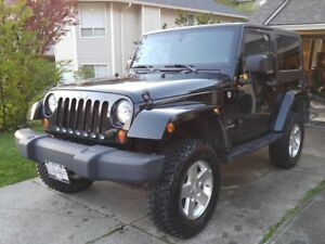 2009 Jeep Wrangler Coupe (2 door)