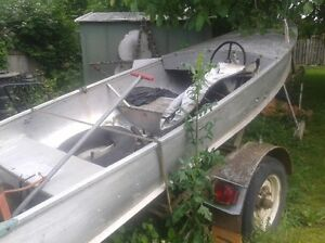 14 foot boat and motor