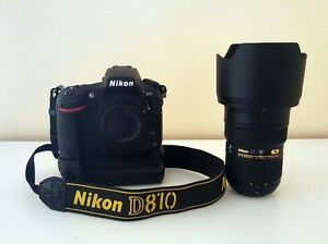 Like New Nikon D810 with Grip and 24 70 Zoom Lens