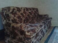 Classic flower print couch!