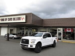 2016 Ford F-150 FX4 OFF ROAD PACKAGE SUPER CREW 4X4 3.5L ECO BOO