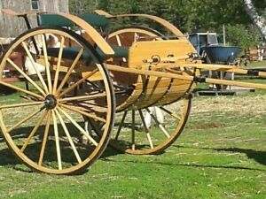 Large single horse cart and or harness