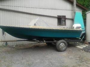Awesome boat with newer outboard