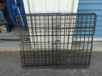 *BEST OFFER SALE* LARGE STEAL DOG PEN or TRAVEL CAGE