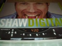 So now this one will be your baby if you are with Shaw cable