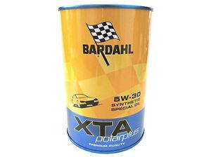 BARDAHL-XTA-Polarplus-SAE-5W30-Sintetico-Special-Aceite-ACEA-A3-B4-BMW-LL-01-VW