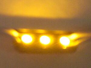 Forma-Ladrillo-LED-3-SMD-Amarillo-Para-Personalizar-Letrero-para-LED