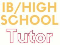 ⭐IB & High School (K-Gr12) Tutor - Math, Sciences, Chem, Bio,Eng