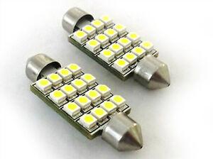 Lampara-Led-Torpedo-Can-bus-No-Error-T11-C5W-43mm-16-SMD-Luces-Placa-Cabina-12V
