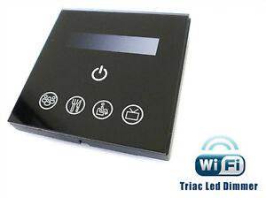 Regulador-de-luz-Led-Triac-Regulador-de-intensidad-SCR-220V-200W-Tocar-Panel
