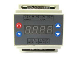 Ecu-DMX-Led-Triac-Regulador-de-intensidad-220V-3-Canales-Echale-un-vistazo
