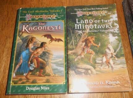 DRAGONLANCE LOST HISTORIES SERIES KAGONESTI + LAND OF MINOTAURS