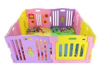 Fun, safe, easy to use play pen for - use up to 3 years