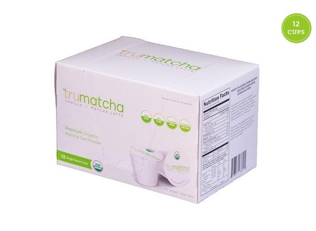 USDA Organic Vanilla Japanese Matcha Blend K-Cups 12 Count  1