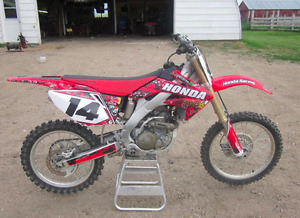 2006 CRF250R - Aftermarket decal kit