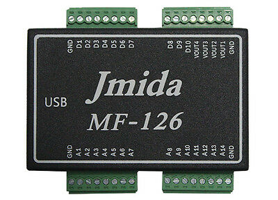 Usb Daq Mf126 Data Acquisition 14ai 4ao 10dio Pwm Cnt And Free Software Driver