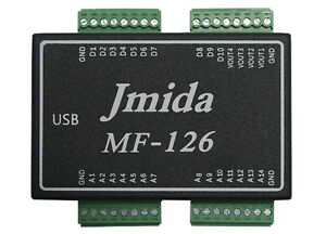USB DAQ MF126 DATA ACQUISITION 14AI 4AO 10DIO PWM CNT and Free Software &Driver