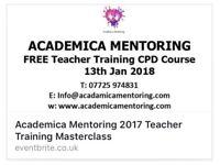 Free teacher training masterclass