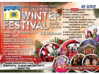 Indoor Christmas fair, Indoor Winter Festival, Stall Holders , Fun Fair