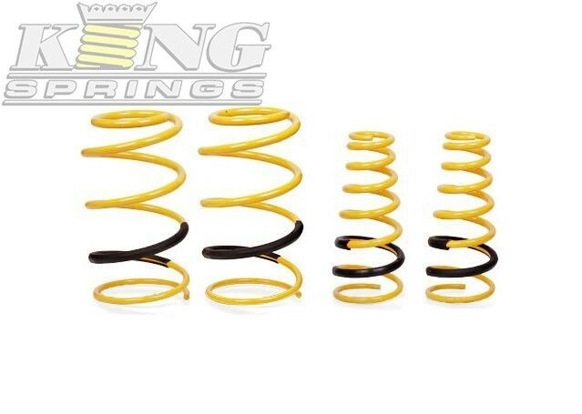King Springs Suspension Lowered frt&rr Kit For BMW Z ser 97 00 Z3 2.8 E36 Coupe