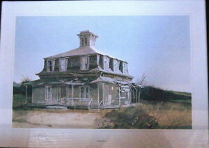 10 Canadiana Prints-'Vanishing Buildings of Canada' 1970 London Ontario image 3