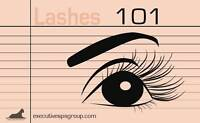 LASHES 101: EYELASH EXTENSION CERTIFICATION COURSE