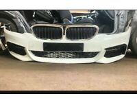 BMW 5 Series G30 G31 M Sport Front Bumper Complete 2017-2020