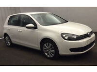 VOLKSWAGEN GOLF 1.4 TSI MATCH SE 1.6 1.9 2.0 TDI SPORT GTD GTI FROM £25 PER WEEK