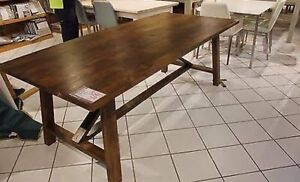 FREEDOM FURNITURE BARNSBURY DINNING TABLE Sefton Bankstown Area Preview