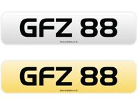 Personal Private Number Plate (GFZ 88)