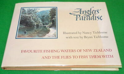 Book: Anglers' Paradise by Nancy & Bryan Tichborne 1990 1st Edition, flies fo...