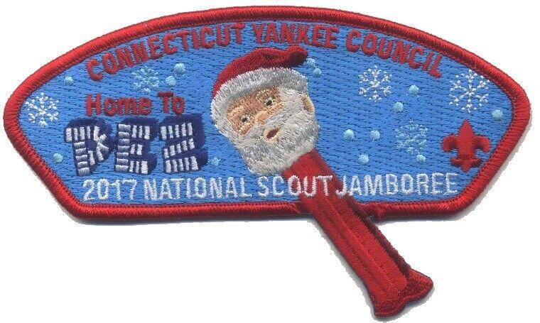 2017 Jamboree - Connecticut Yankee Council PEZ Candy JSP - Santa Fundraiser