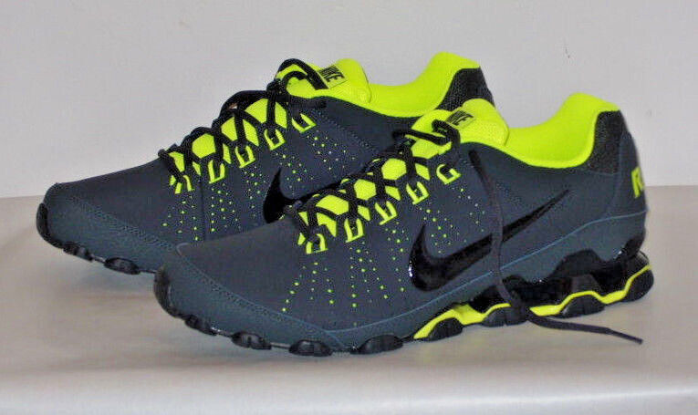 NIKE REAX 9 TR SN71 ANTHRACITE GREY BLACK GREEN VOLT TRAINERS AIR SHOES  SNEAKERS 32f2daa5a