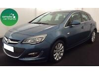 £136.00 PER MONTH BLUE 2014 VAUXHALL ASTRA 1.6 VVT ELITE 5 DOOR PETROL MANUAL