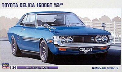 HASEGAWA® (HC12) Toyota Celica 1600GT TA22-MQ 1970 in 1:24