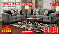 Custom Canadian Made Sofas Sale, from $499 Tax Included!