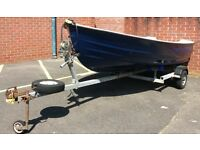 Bonwitco 12ft fishing boat