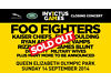 2x Tickets to SOLD OUT Invictus Closing Ceremony FOO FIGHTERS, KAISER CHIEFS, ELLIE GOULDING & More. Northolt, London