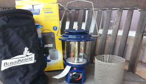 Camping Propane Lantern - Double Burner (Auto Ignition)