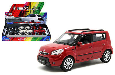 Kia Soul 1 34 1 39 Diecast Car Cream   Blue Gray  Red Model Collection New Gift
