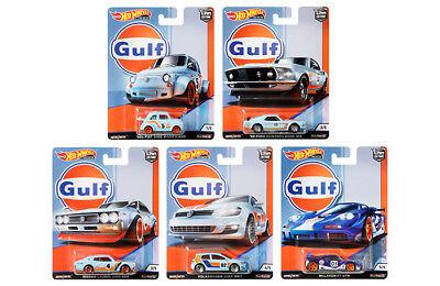 HOT WHEELS 2019 CAR CULTURE GULF RACING - 10 CAR CASE FPY86-956G IN STOCK