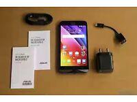 "ASUS ZENFONE MAX . DUAL SIM. 5.5"" MOBILE FONE . 32GB . 4G LTE BLACK (ZC550KL) UNLOCKED"