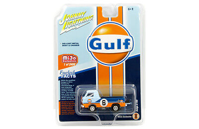 JOHNNY LIGHTNING MIJO EXCLUSIVES GULF RACING DODGE A-100 PICK-UP TRUCK