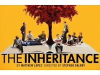 1 x ticket to The Inheritance Part 1 - Noel Coward Theatre, Friday 21st September 7.15pm