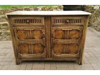 Solid Oak, Ercol, sideboard / Old Charm style