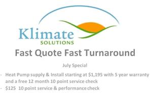 Heat Pump Specialist Services