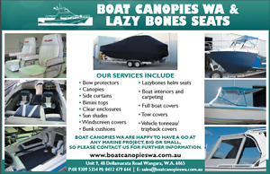 BOAT CANOPIES W.A Wangara Wanneroo Area Preview