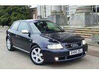 Audi S3 2001/51 1.8T Quattro 225 bhp £3250
