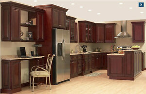 Best price granite countertop and maple kitchen cabinets for Kitchen cabinets 50 off