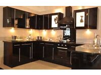 Black Gloss KItchen For Sale Only £1095